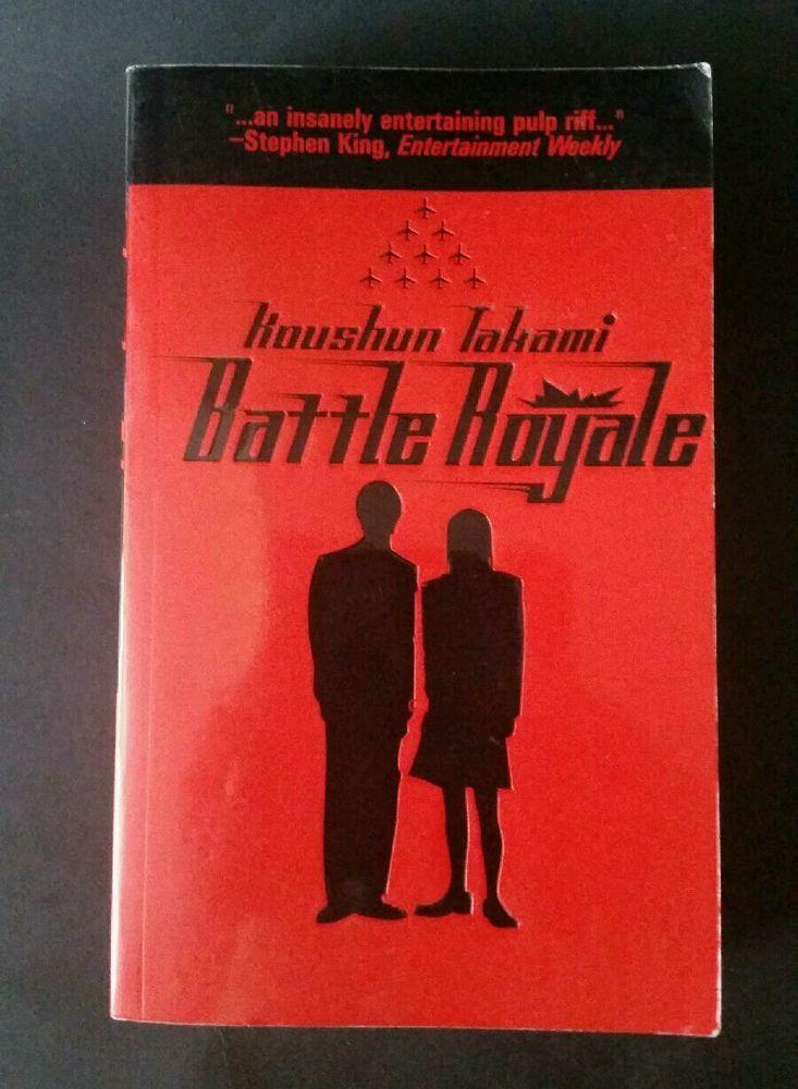 Battle Royale by Koushun Takami Paperback Book Translated By Viz Media