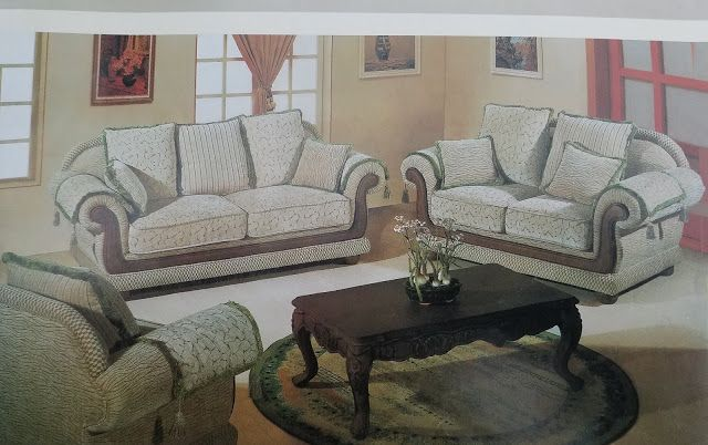 Wooden Sofa Set With Price List In
