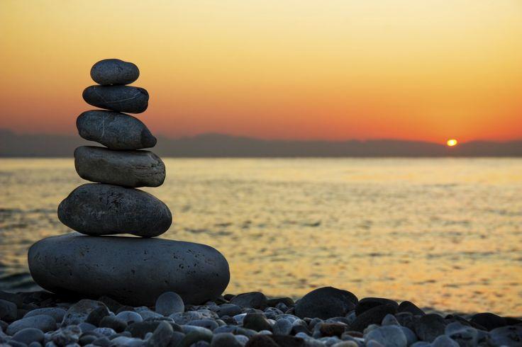 stenen stapel....