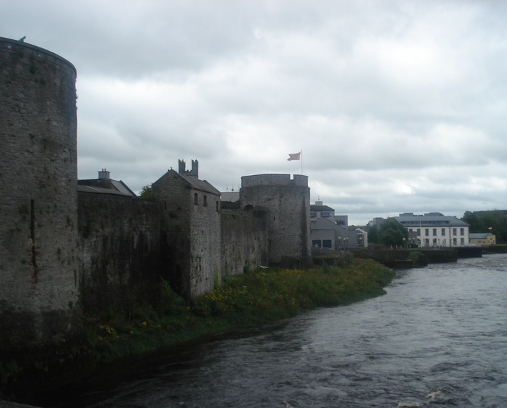 Battlements of King John's Castle