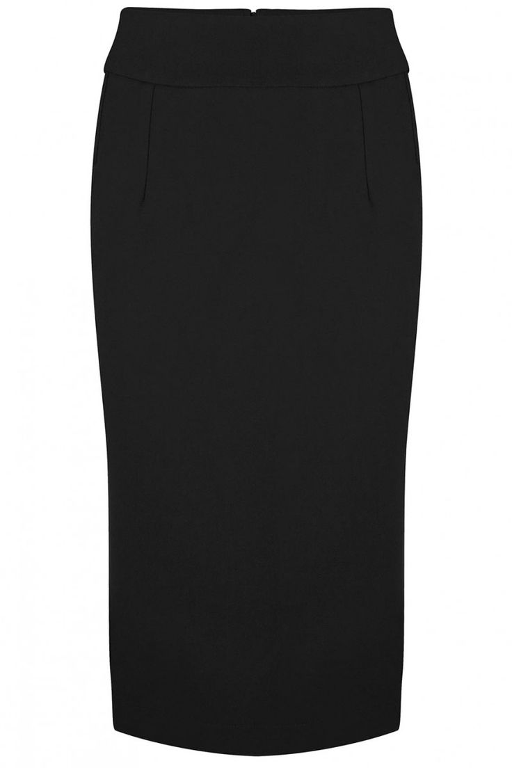 Classic Pencil Skirt Black - Kleding