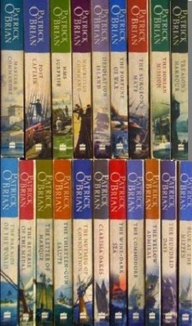 """My favorite review of the Aubrey / Maturin Series by Patrick O'Brian...  """"I don't care about England, I don't want to know anything about their navy, and I certainly don't give a shit about English naval battles in the 19th century. But once I got started on these books I couldn't stop."""""""