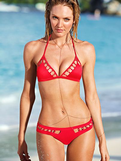 victoria secret red bikini eBay