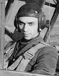 Air Flotilla General aviator Ion Dobran, died 5 February 1919.  Initially flew the plane IAR 80 and then the Bf 109G. He took part in 340 missions, 74 dogfights and aerial victories had 10 confirmed, three probable and one on the ground.  It is decorated with Star of Romania Order , Order of the Crown and the Order of Aeronautical Virtue.