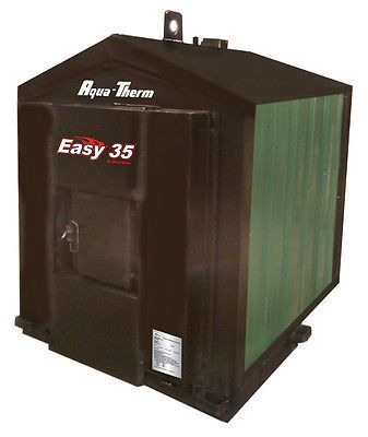 New Aqua-therm Easy 35 Outdoor Pellet burner/boiler/furnace/stove     Meets EPA