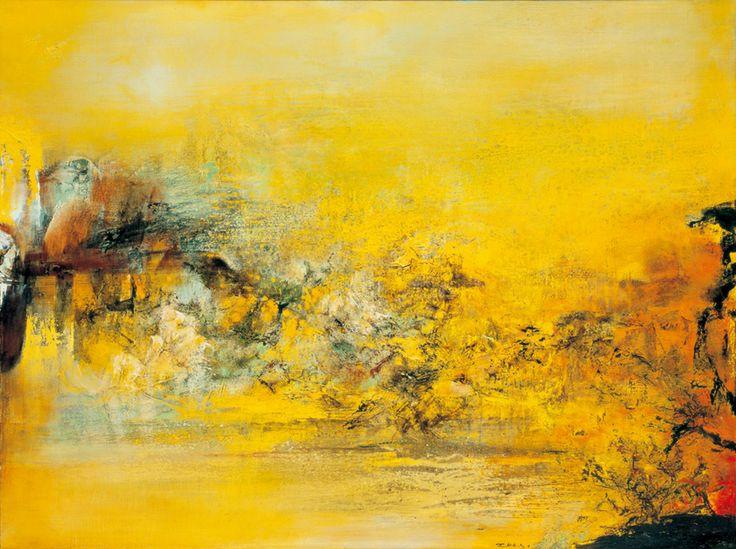 Zao Wou-ki, 22.3.79, 1979, oil on canvas, 97x130cm