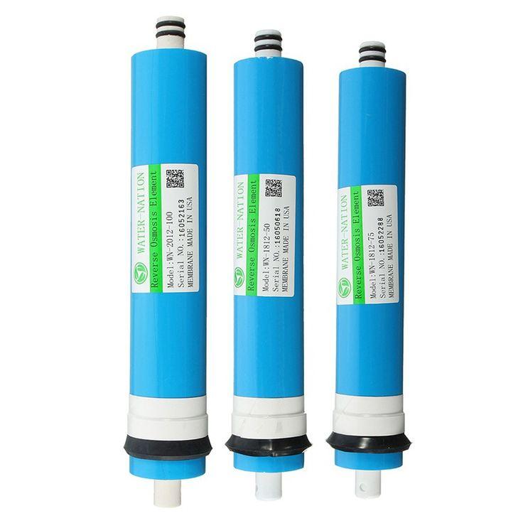 Dapur rumah Sistem Penggantian Air Filter 75 GPD RO Membran Reverse Osmosis