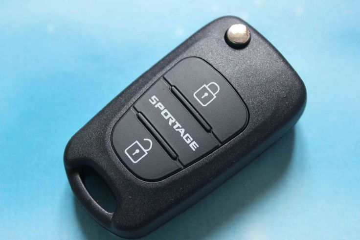Car key shell fob replacement case 3 buttons flip folding