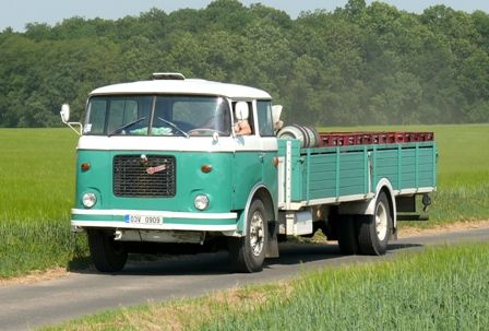 Škoda 706 RT   Staré náklaďáky