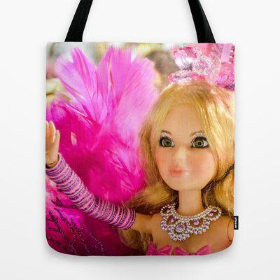 Carnaval - Brazil  - Rainha da Bateria de  Escola de Samba Tote Bag by Sandra Betinassi - $22.00