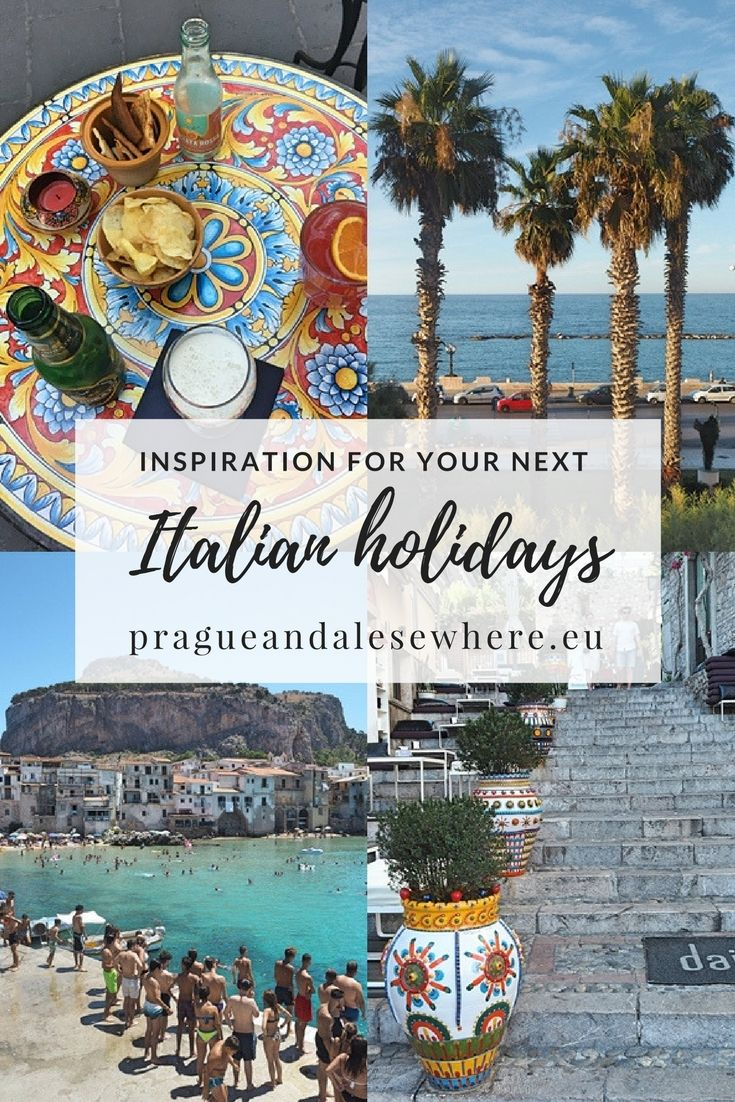 Inspiration for your next Italian holidays (Bari, Sicily, Naples)