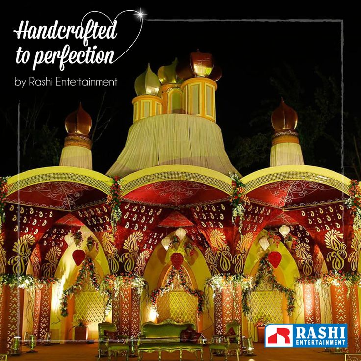 At the heart of every #wedding lies the undeniable quotient of #love!  We believe in exuding one through our decors.