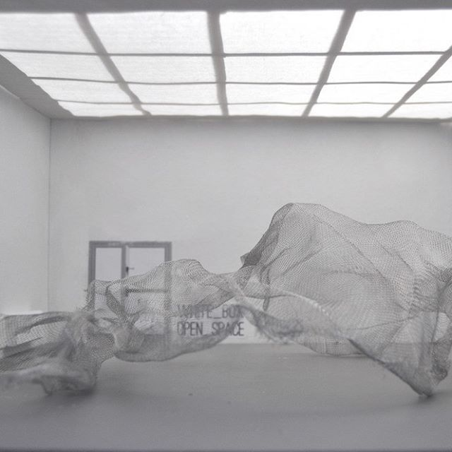 ::: NET and ARCHITECTURE ::: Roland Wegerer ::: www.rolandwegerer.com :::  Installationview ::: #08 ::: #white #box #open #space #museum #gallery #art #small #contemporaryart #artoftheday #visual #minimal #Roland #Wegerer #architecture #net