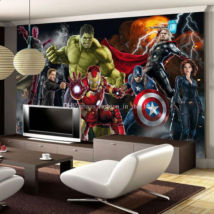 The Avengers Wall Mural Hulk Captain Americ Thor Photo
