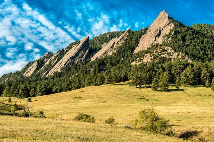 Boulder, CO~ I hiked the Flatirons on layover, so fun!