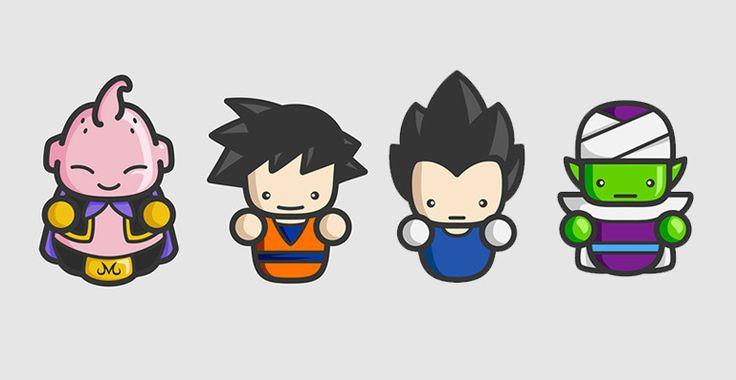 Dragon Ball Minimalista - Visit now for 3D Dragon Ball Z compression shirts now on sale! #dragonball #dbz #dragonballsuper
