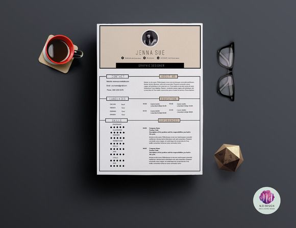 24 best cv resume cover letter designs images on pinterest
