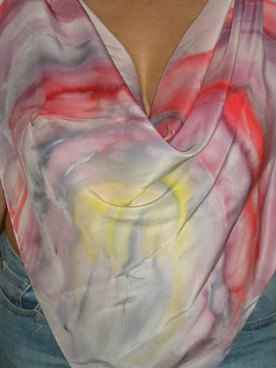 Rosebud by HelenaArtSilk on Etsy, $80.00