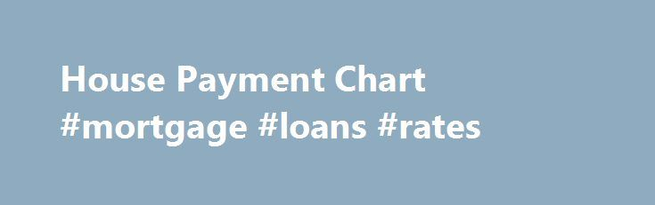House Payment Chart #mortgage #loans #rates http://mortgage.remmont.com/house-payment-chart-mortgage-loans-rates/  #mortgage payment chart # House Payment Chart   Monthly Mortgage Payment Chart House Payment Chart Here, on House Payment Chart, you can print out monthly mortgage payment charts, or mortgage payment tables in seconds. You have very little to do. Just go to the page that has the chart you want; 10 year. 15 year. 20 year. 30 year or 40 year chart and click the button that says…