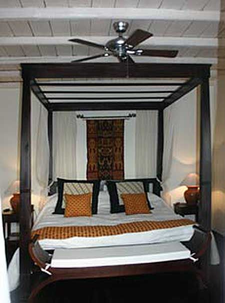 Indonesian Bed Frames: Indonesian Beds: Four Poster Beds