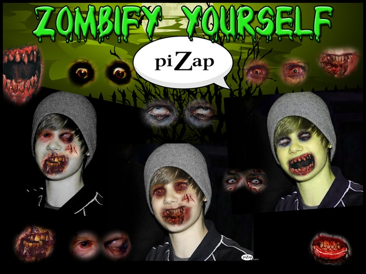 #piZap Zombify Yourself