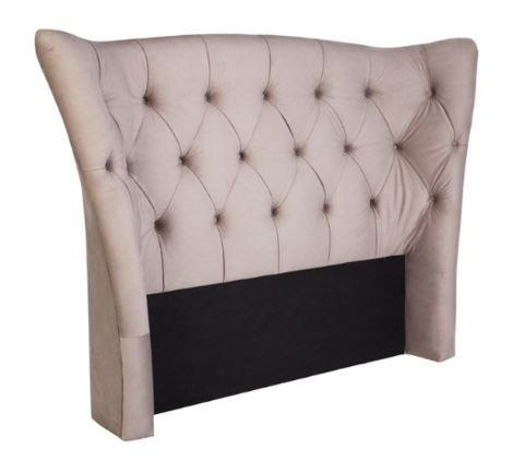 Bordeaux Headbord Taupe - in 2 Sizes - Complete Pad ®