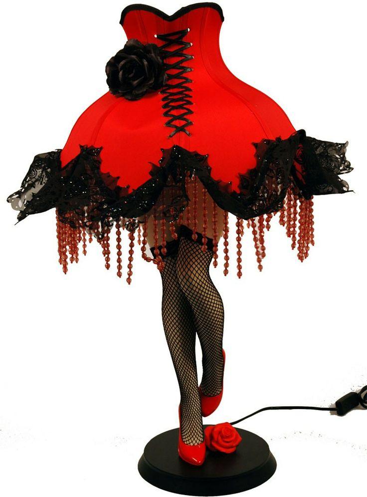 Lamp benen 76cm/rode kap-schoen/kousen