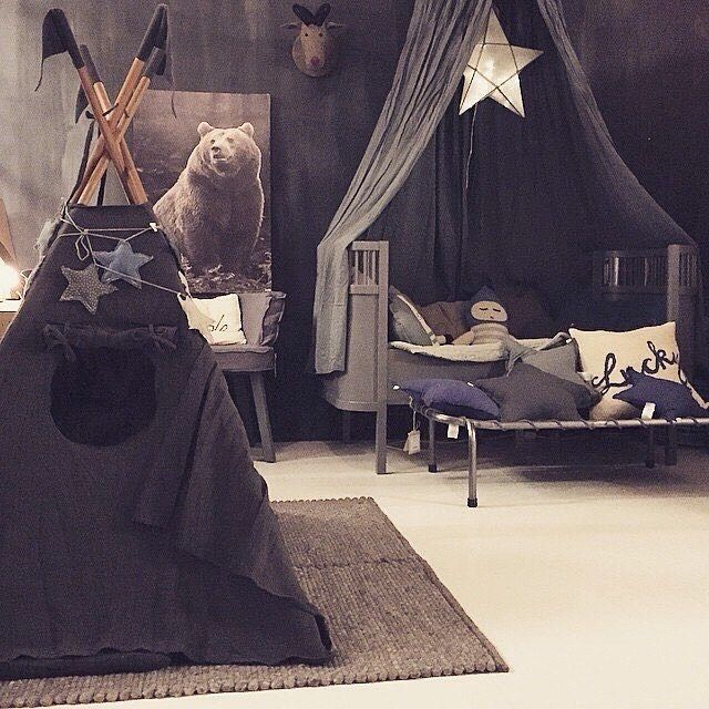 Who wouldn't want to camp out in tent & canopy by @numero74_official #hellolittlebirdiestore