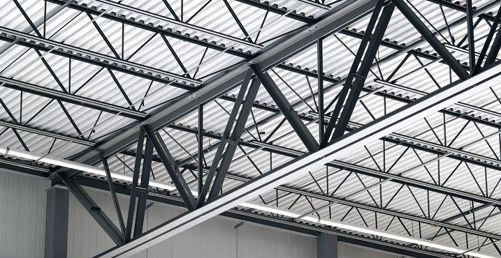 Flat Roof 30 Foot Steel Truss Google Search Dibujos De