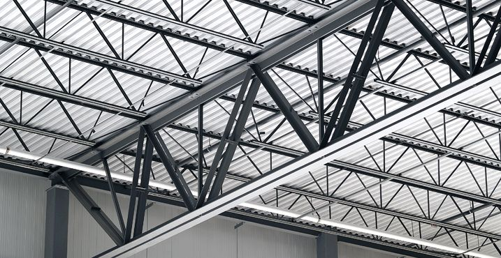 Flat roof 30 foot steel truss google search cabrillas for Truss roof system
