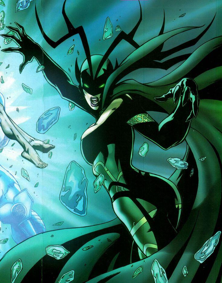 marvel comics female characters | Hela - 15 Strongest Female Marvel Characters