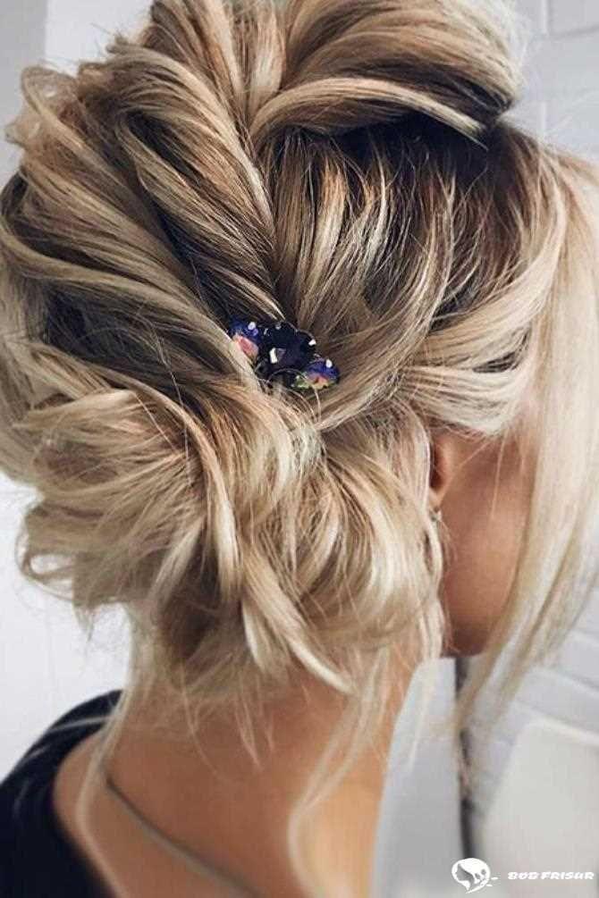 15 Einfache Hochsteckfrisuren Für Kurzes Haar Frisuren