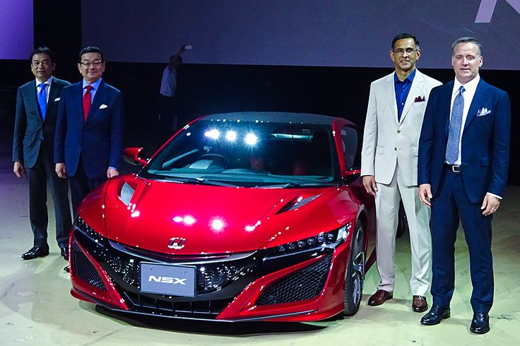 Honda has begun taking orders for the new NSX in Japan for the first time in 10 years. While the original NSX was produced in Japan, this second-generation model is built to order at a specialized manufacturing facility in the United States, the NSX's largest market. The development and production chiefs are both non-Japanese engineers who carry on the Honda spirit.