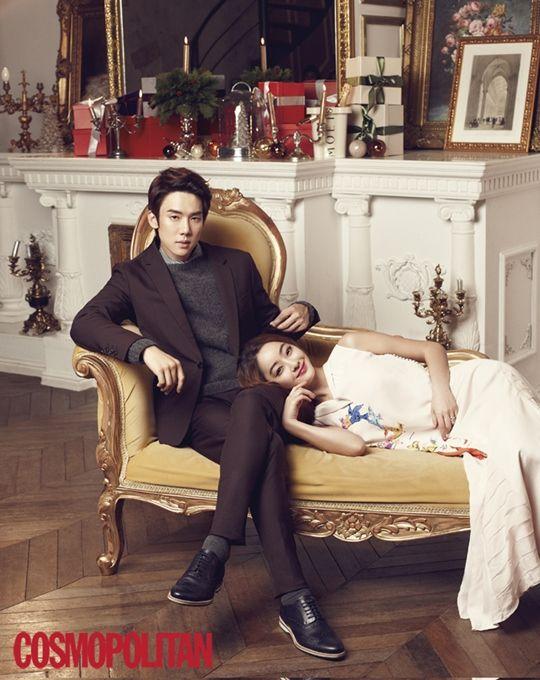 Yoo Yeon Seok - Cosmo December 2013