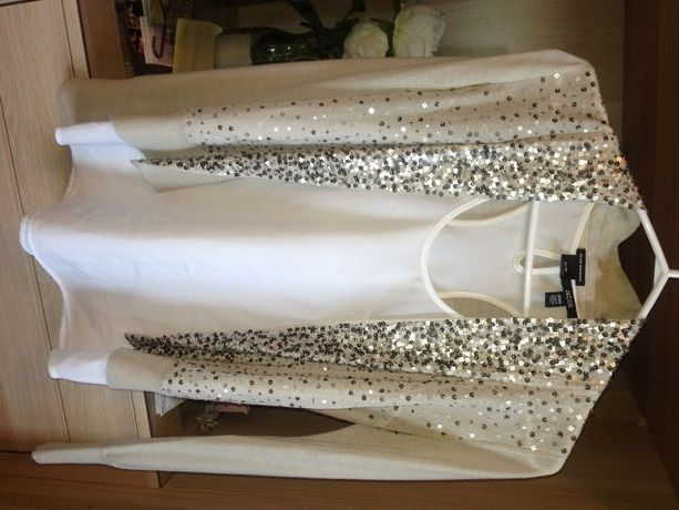 Available @ TrendTrunk.com *Sequins  Sparkles!* Club Monaco Cardigan - Size XS. By Club Monaco. Only $45!