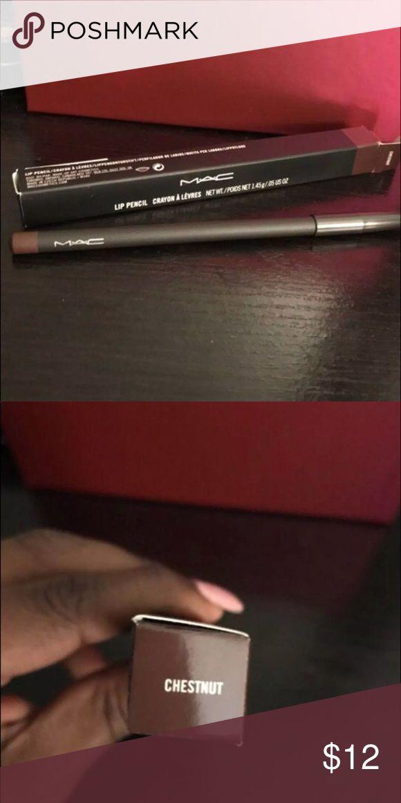 MAC Lip Liner Color: Chestnut NWOT MAC Cosmetics Makeup Lip Liner