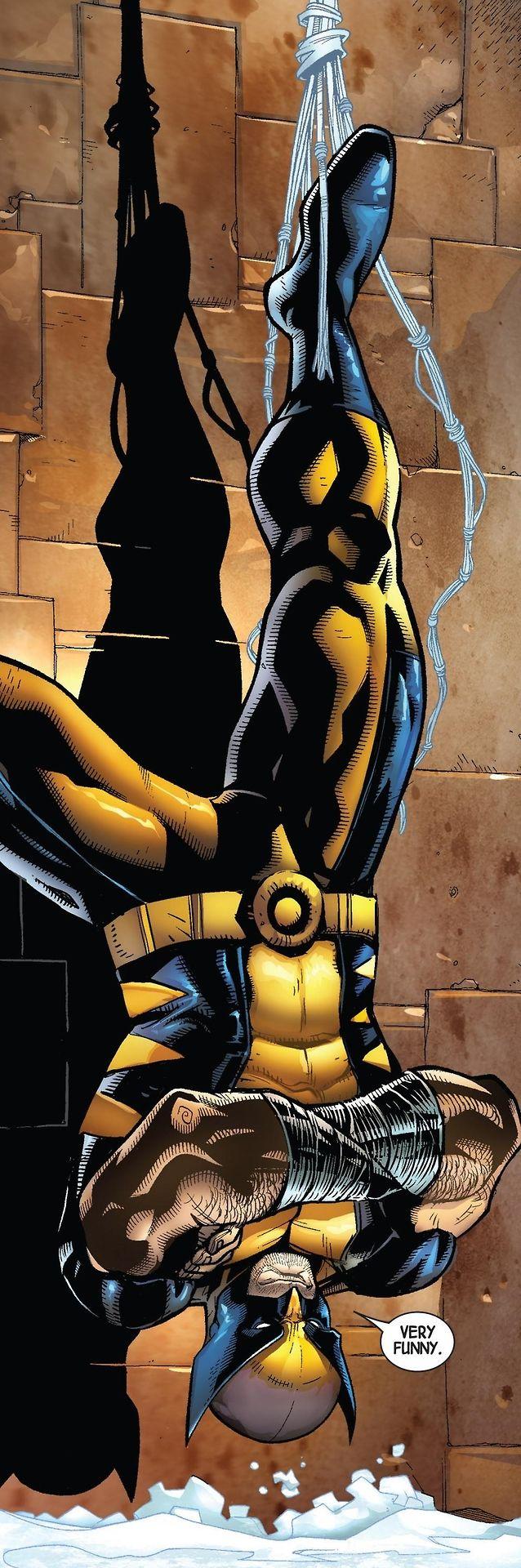 """~ Wølverine ~ Rattraper juste à temps """"lØl"""", heureusement que • Spider-Man • est là :-X"""