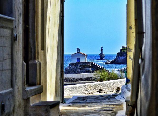 Panagia Thalassini Andros island - Greeka.com | Greece | Greek islands
