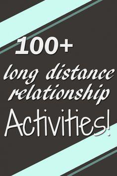 Over 100 Long Distance Relationship Activities Over Skype