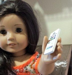 DIY iPhone for your American Girl Doll | Life In One Third Scale
