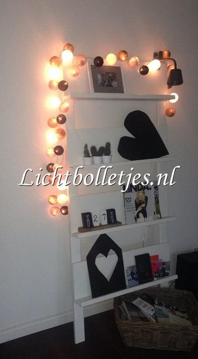 lichtbolletjes#fancy lights#cotton balls#sfeer