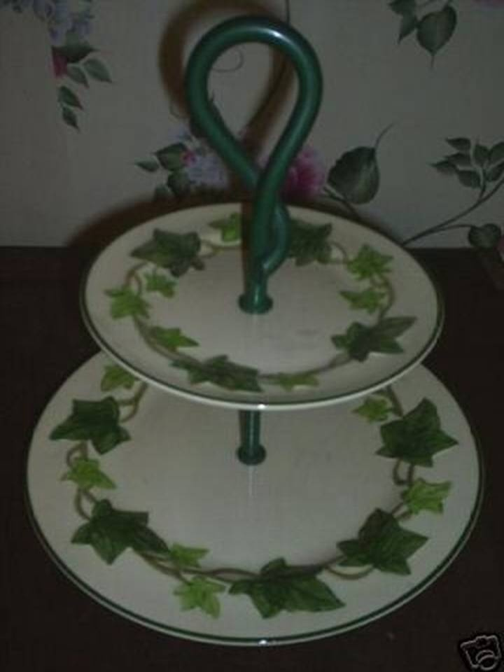 2 Tier Cake Dish Franciscan Ivy Pattern & 9 best Franciscan Ivy images on Pinterest | Dish Dishes and ...