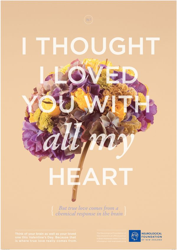 I thought I loved you with all my heart. Neurological Foundation.