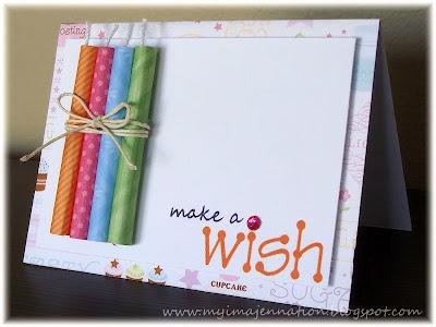 The candles. SO cute.: Galleries, Candles Card, Birthday Candles, Make A Wish, Birthdays, Birthday Cards, Cardmaking, Card Ideas, Diy