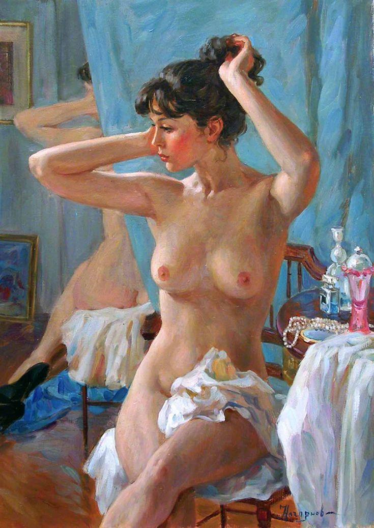 Russian princess: Pictures by a Russian artist Vladislav Nagornov - 14