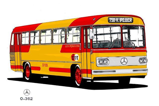 Will.Bus: Mercedes-Benz O-362 - (SP) Empresa de Ônibus Vila Ipojuca Ltda. (Década de 70)