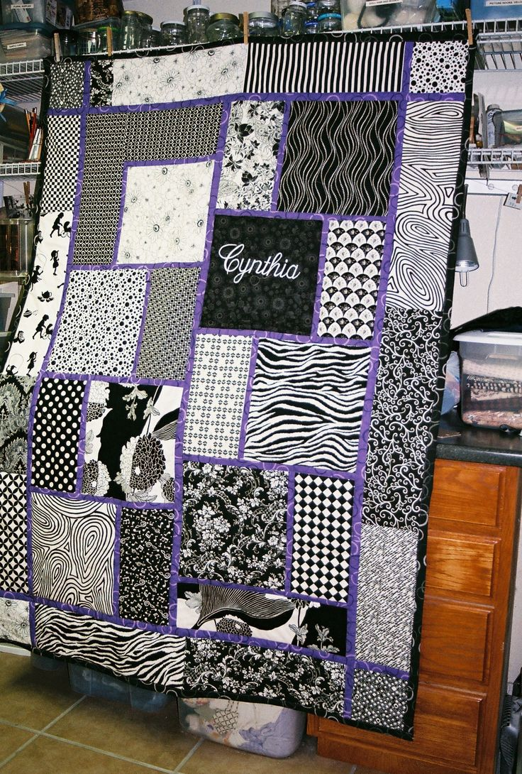 big block quilt pattern for cynthia love the black u0026 white with pop of color between
