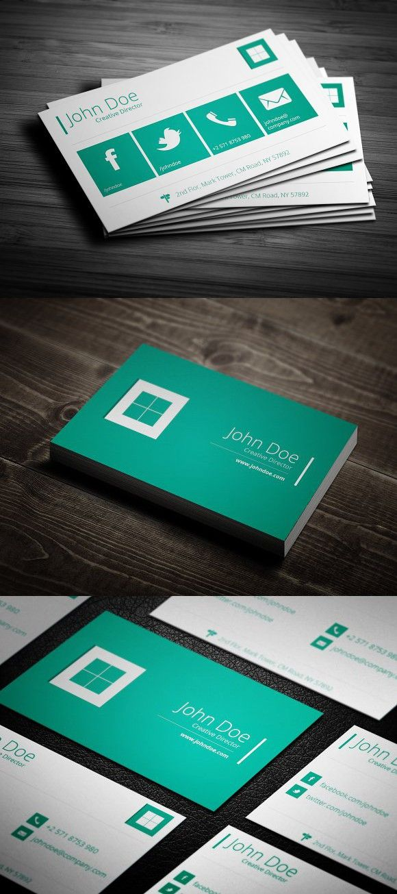 Flat Metro Business Card Cards Visit Carte De Visite