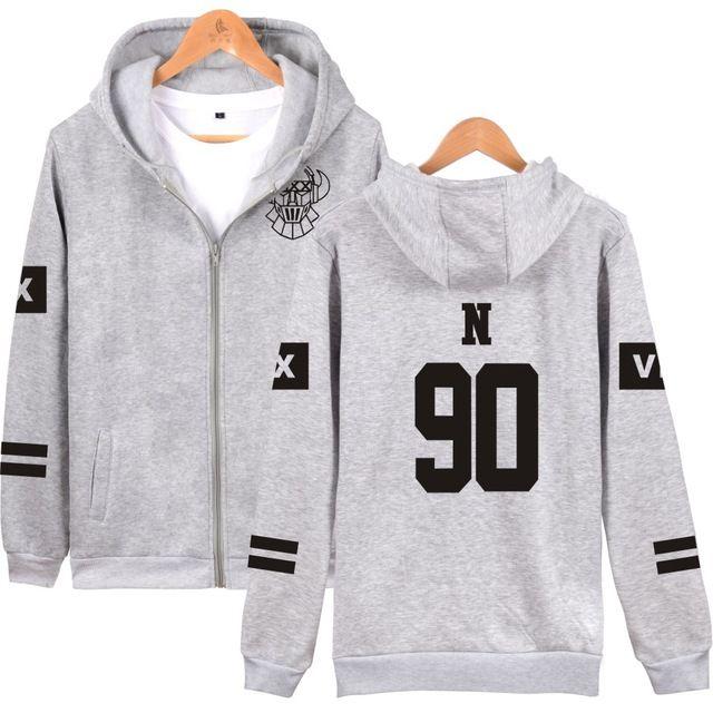 KPOP VIXX Hoodies With Zip Up VIXX Zipper Pullover Sweatshirt Harajuku Hip Hop Fleece  Vixx For Women Men Lady Young Teen #Brand #LUCKYFRIDAYF #sweaters #women_clothing #stylish_dresses #style #fashion