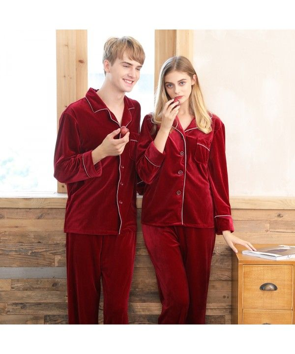 c509468def Velvet couple pajamas